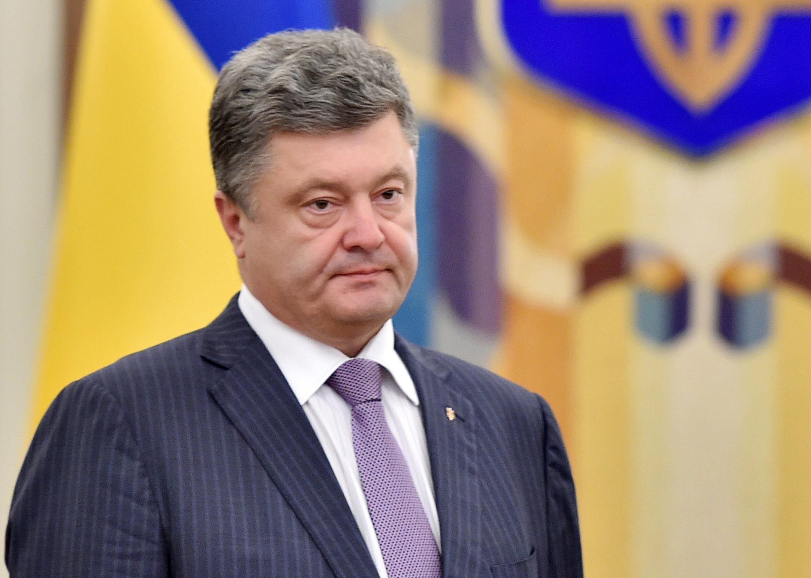 Порошенко обвинил хуёвую РФ в отжиме предприятий