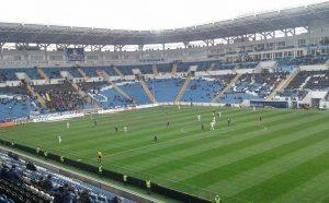 пустые трибуны в Одессе